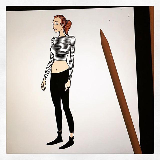 Et maintenant une fille #pencil