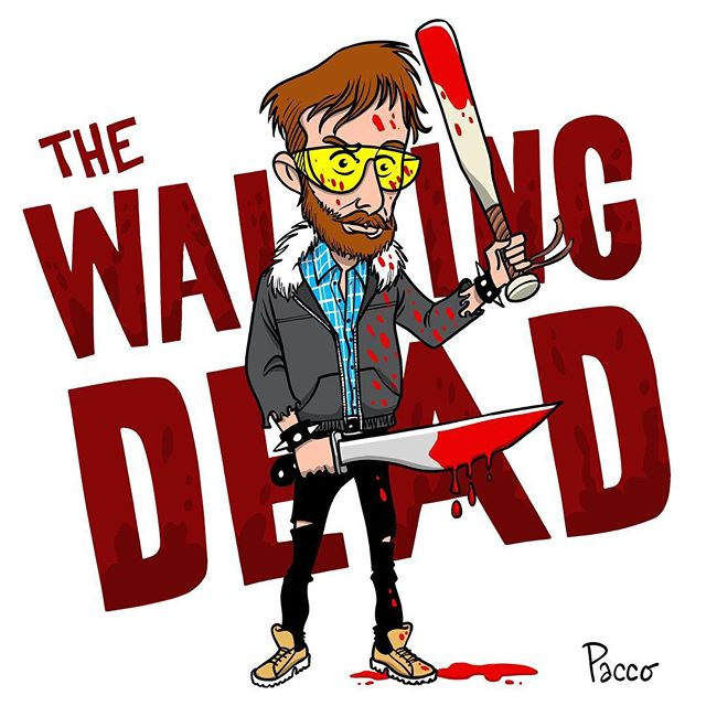 #thewalkingdead #pacco #comics #illustration