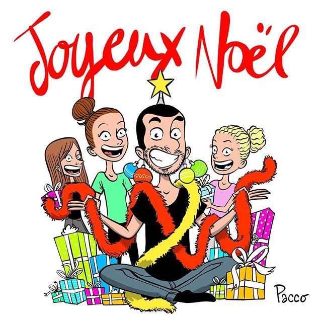 Merry Christmas !!! #pacco #illustration #bd #comics