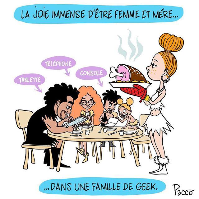 Everyday Life #lesraspberry #illustration #pacco #geek
