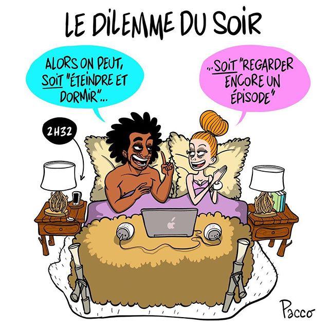 #lesraspberry #pacco #illustration #LesSeriesDuSoir