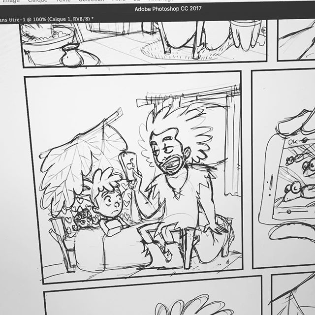 Work In Progress #lesraspberry #pacco #comics