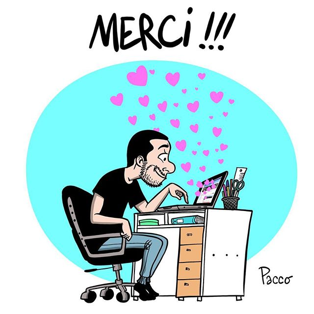 Pour tous vos messages hier #pacco #merci #birthday