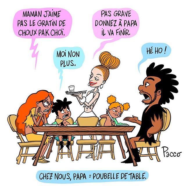 À chaque repas. #lesraspberry #pacco #comics