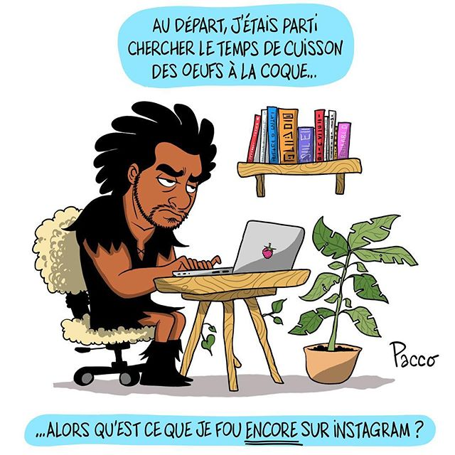 Grosse addiction ? #pacco #lesraspberry #comic