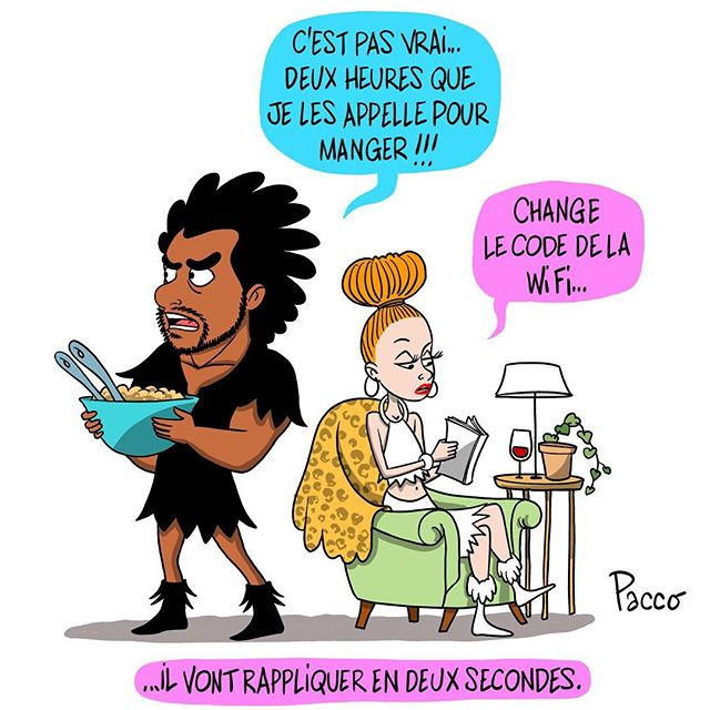 La daronne #lesraspberry #comic #pacco