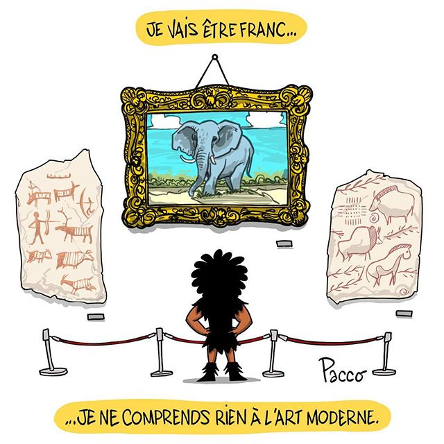 L'Art #lesraspberry #paccodc #cartoon