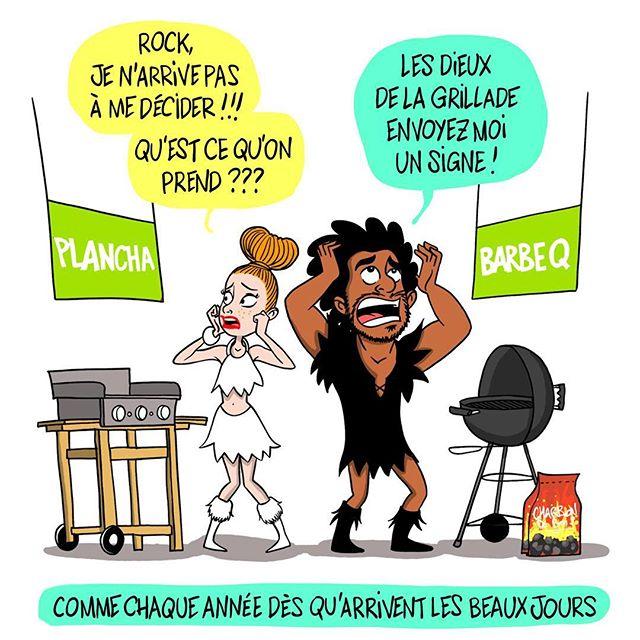 #teamplancha ou #teambarbecue ? / Dans les commentaires tag quelqu'un à qui ça parle  #lesraspberry #comics #paccodc