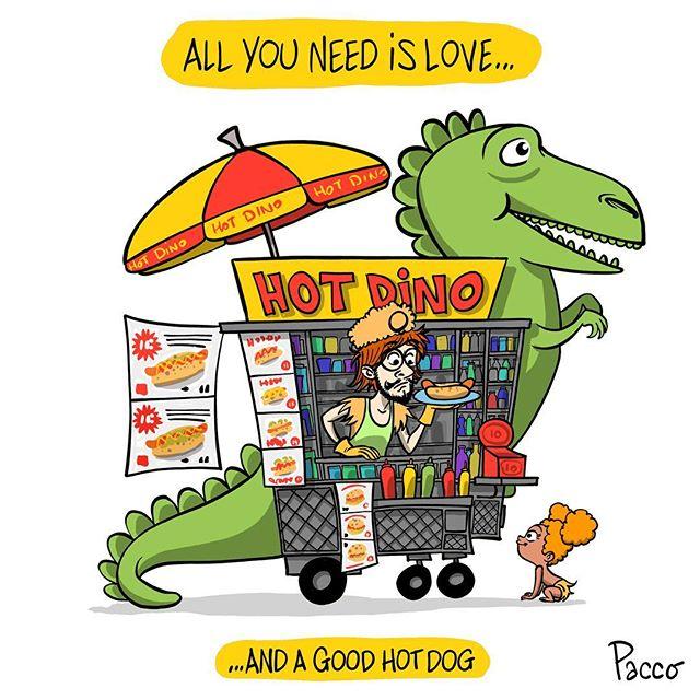 Leçon de vie / Life lesson  tag someone U love #hotdog #allyouneedislove #holidays