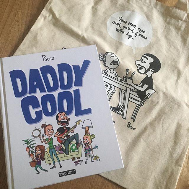 Pour participer au tirage au sort et tenter de gagner un des 5 albums «Daddy Cool», et son Tote bag, Repost cette image avec les mentions #DaddyCool et @PaccoDC. Good luck! 😎