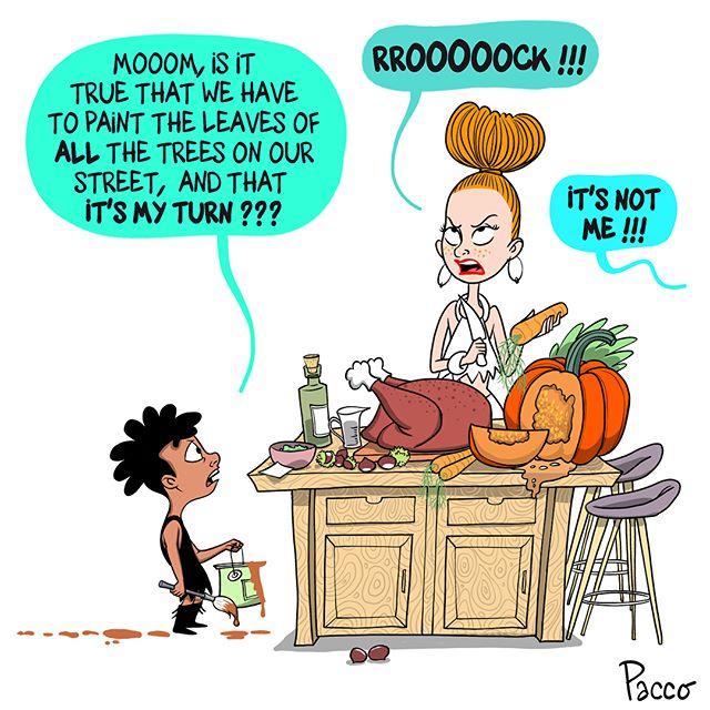 Indian Summer / L'été indien (Swipe pour la VF) #lesraspberry #automne #paccodc #family #familytime #daddytricks