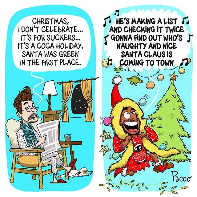 Christmas Attitude Them Vs. Me / Noël Attitude Eux Vs. Moi